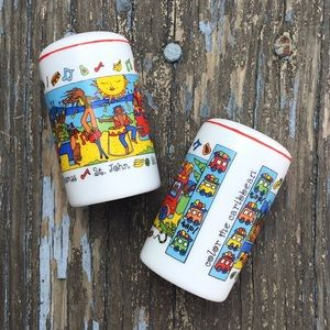 Vintage Caribbean Islands Salt and pepper shakers